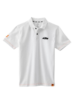 RACING POLO WHITE